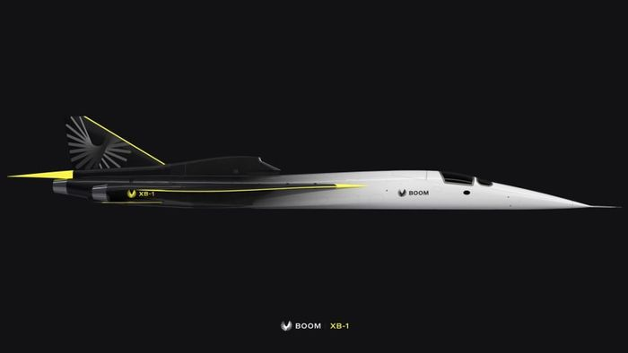 Pesawat supersonik XB-1dari Boom Supersonic