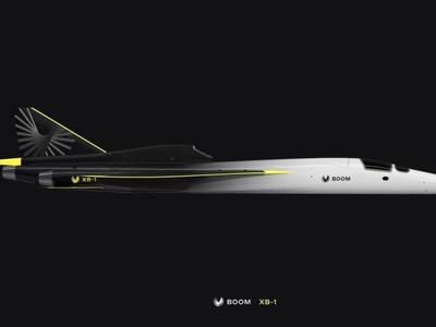 Pesawat Supersonik Boom Persiapan Lepas Landas 2021