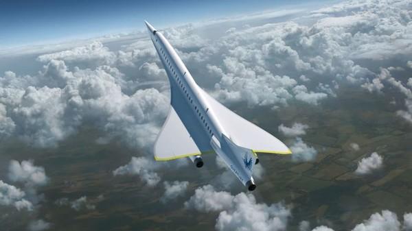 Penciptaan pesawat supersonikXB-1 adalah untuk menunjukkan dan membuktikan teknologi utama Overture. Peswat ini dibangun dengan konstruksi komposit serat karbon canggih dan efisiensi aerodinamika tinggi yang telah dioptimalkan komputer.