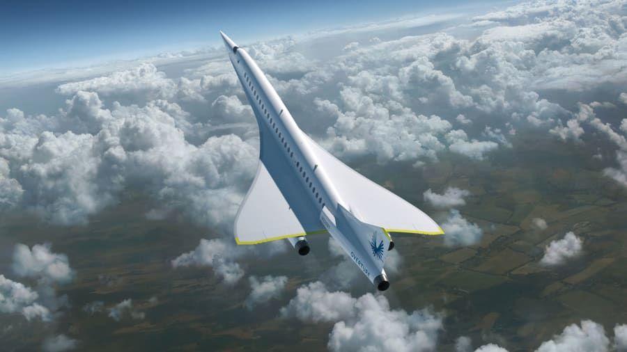 Pesawat supersonik XB-1dari Boom Supersonic