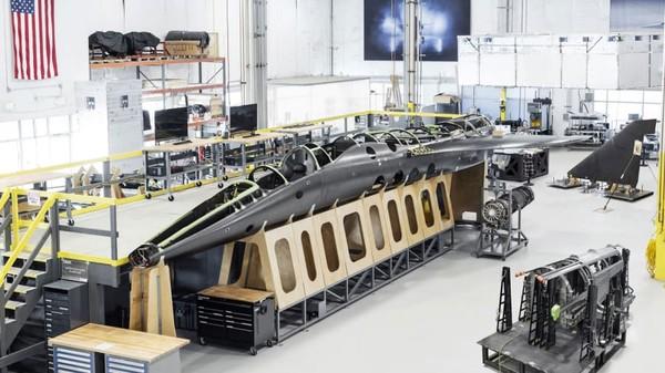 Start-up Boom Supersonic yang berbasis di Denver telah mengumumkan akan meluncurkan prototipe pesawat supersonik XB-1.
