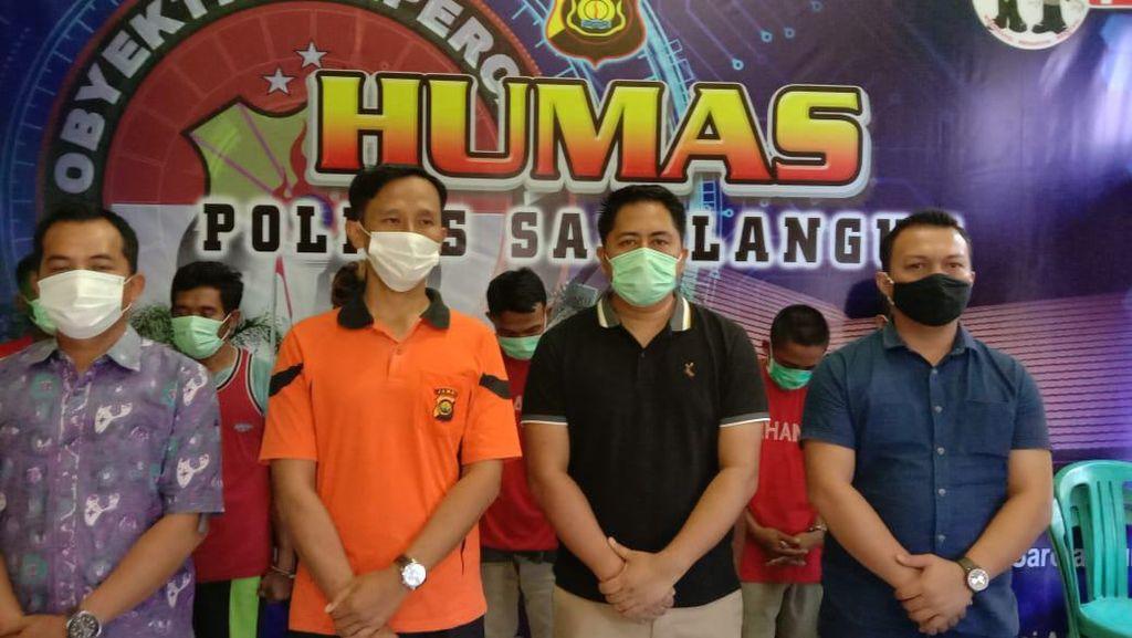 7 Pekerja Tambang Ilegal Asal Jawa Ditangkap di Sarolangun Jambi