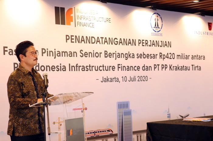 Indonesia Infrastructure Finance terus berupaya menjadi katalis dalam merealisasikan pembangunan infrastruktur yang berkelanjutan di berbagai sektor Indonesia.