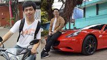 Dulu Naik Yamaha Jupiter Cinta Ditolak, Pria Ini Sekarang Punya Ferrari