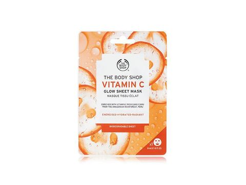Sheet mask vitamin C