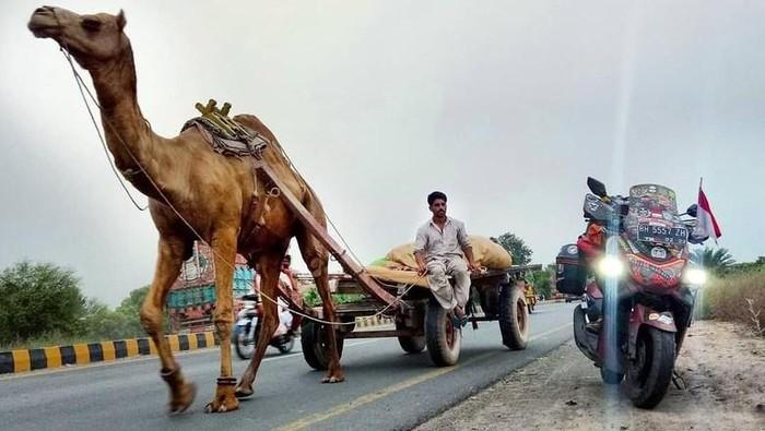 Touring ke Mekah naik Nmax