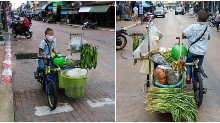 Tukang sayur unik