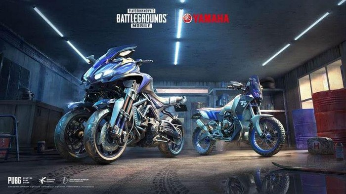 Yamaha kolaborasi dengan Tencent Games PUBG Mobile
