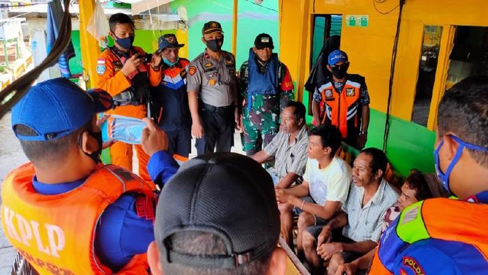 7 ABK Selamat dalam Insiden Kapal Tenggelam di Sinjai