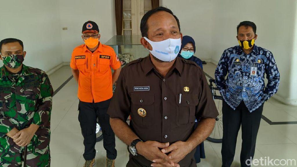 Santri Ponpes Gontor dan Warga Dua Desa Rapid Test, 166 Orang Reaktif