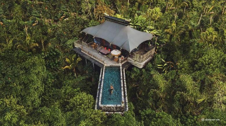 Hotel resor di Bali.