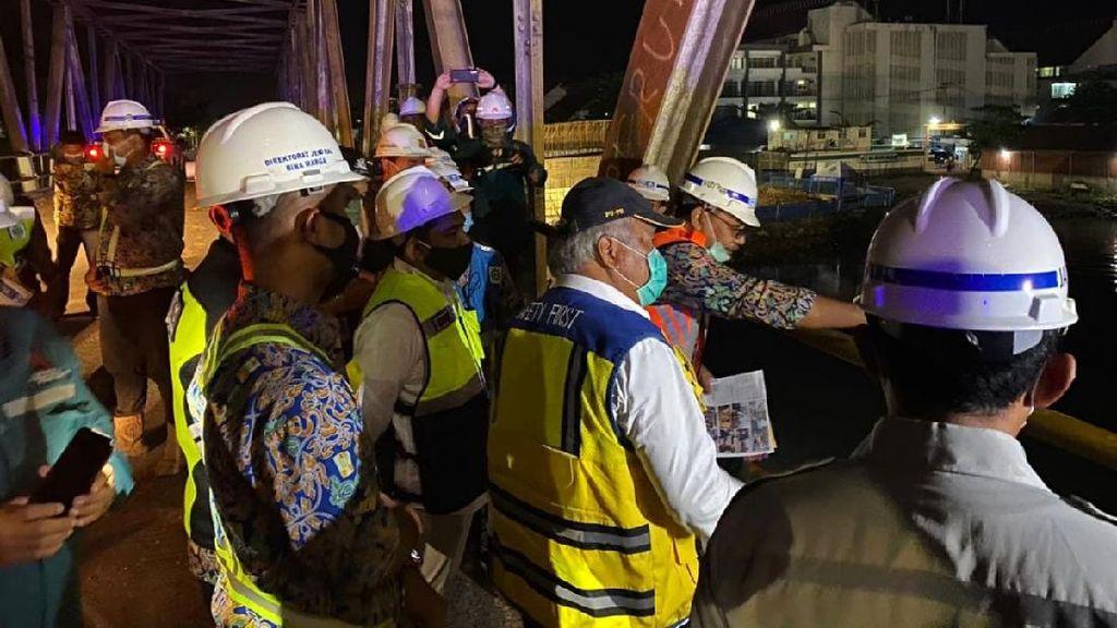 Cek Calon Ikon Baru Kalsel, Menteri PUPR Ingatkan Produk Lokal
