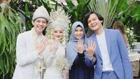 Dinda Hauw Nikah, Mulan Jameela Bikin Netizen Salfok