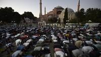 Potret Hagia Sophia yang Resmi Jadi Masjid