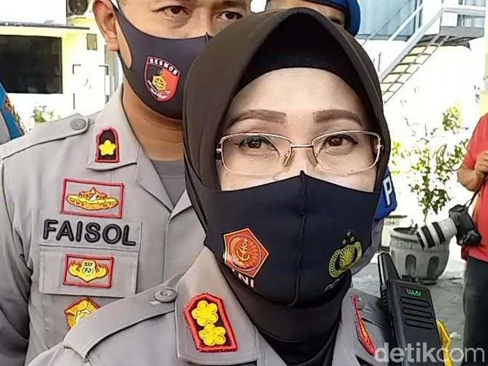 Kapolres Pelabuhan Tanjung Perak AKBP Ganis Setyaningrum