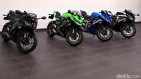 Masih Gak Puas! Intip Lagi Motor Kawasaki Ninja 250cc 4 Silinder Pertama di Indonesia