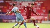 Babak I Liverpool Vs Burnley: Tuan Rumah Memimpin 1-0