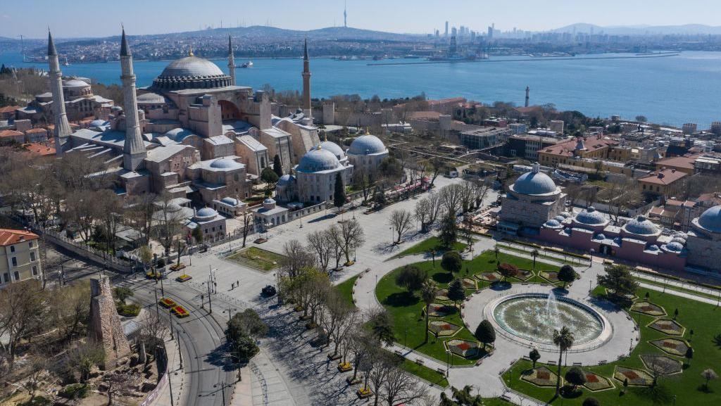 Hagia Sophia Jadi Masjid, Begini Nasib Hiasan di Dalamnya
