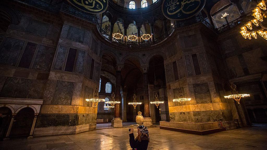 Rusia Sesalkan Keputusan Turki Ubah Hagia Sophia Jadi Masjid