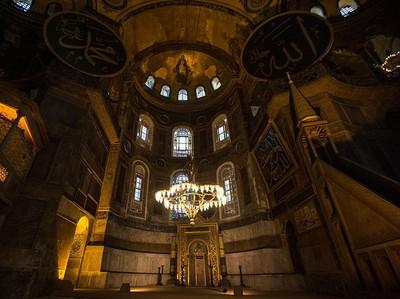 Paus Fransiskus Bersedih Hagia Sophia Diresmikan Jadi Masjid