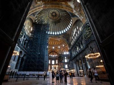 Dibuka dengan Protokol Kesehatan, Hagia Sophia Kerahkan 736 Tenaga Medis