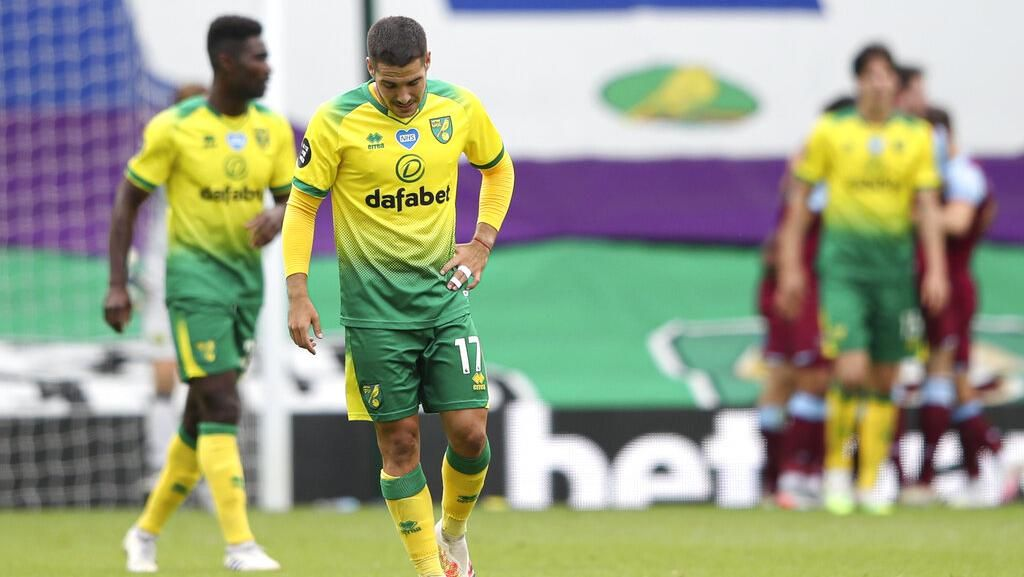 Norwich City Degradasi dari Liga Inggris 2019/2020