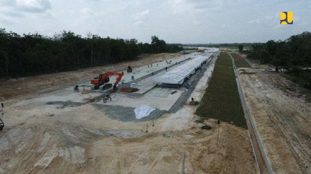 Penampakan Terkini Proyek Tol Penghubung Riau-Sumatera Barat