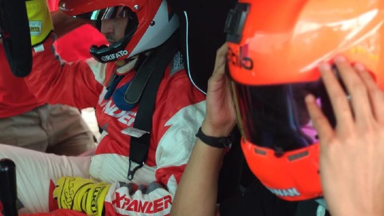 Detikcom mendapatkan kesempatan eksklusif untuk ikut dalam sesi latihan pertama Xpander Rally Team menggunakan Xpander Ap4