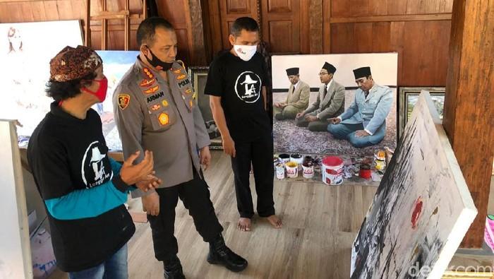 Polisi Banyuwangi Bentuk Seniman Tangguh Hadapi Masa Pandemi COVID-19