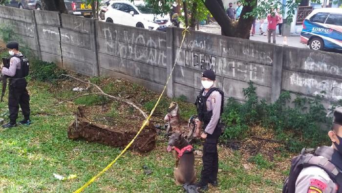 Polisi Olah TKP Tewasnya Editor Metro TV, Anjing Pelacak Dikerahkan