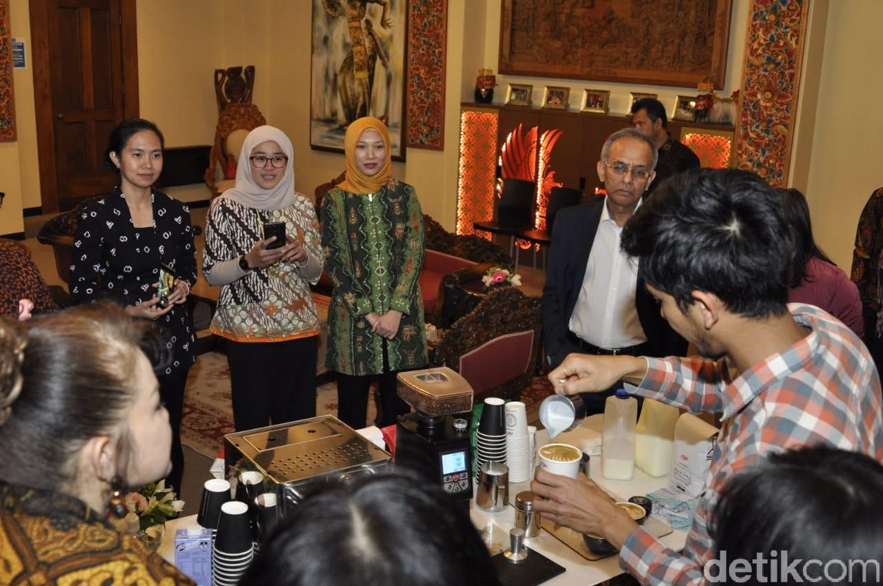Promosi kopi Indonesia oleh KBRI Wellington Selandia Baru
