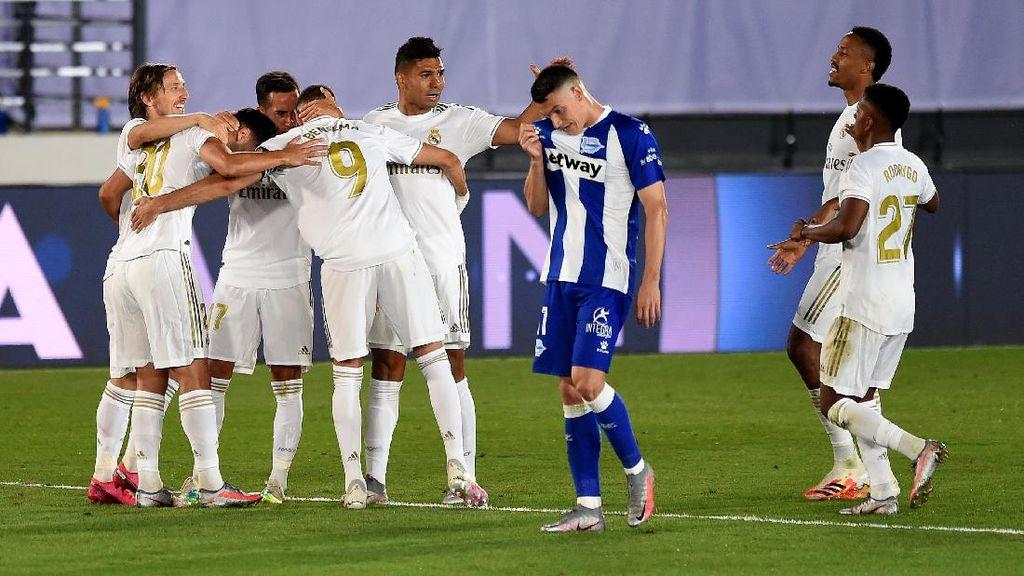 Video 2 Gol Real Madrid Pecundangi Alaves