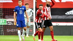 Sheffield United Vs Chelsea: The Blues Dihajar 0-3