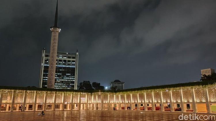 Teknologi Smart Lighting Masjid Istiqlal