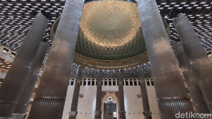 Teknologi Smart Lighting Masjid Istiqlal