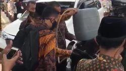 Ini Posisi Maruf Amin Saat Mobil Wakil Presiden Kehabisan Bensin