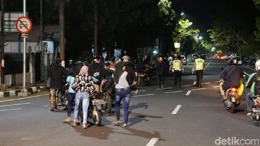 Antisipasi Balap Liar di Kota Blitar, Puluhan Motor Diamankan