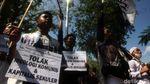 Aksi Ormas di Sumedang Tolak RUU HIP