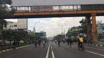 CFD di Jl Jend Ahmad Yani Kota Bekasi, Jalur Pesepeda-Pejalan Kaki Dipisah