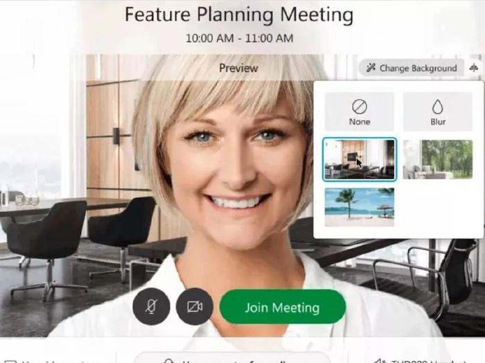 Layanan video conference Webex memperkenalkan fitur baru kepada para penggunanya, di mana kalian bisa mengatur background saat pertemuan secara virtual.