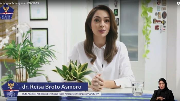 dr Reisa Broto Asmoro Kini Jadi Duta Adaptasi Kebiasaan Baru Gugus Tugas