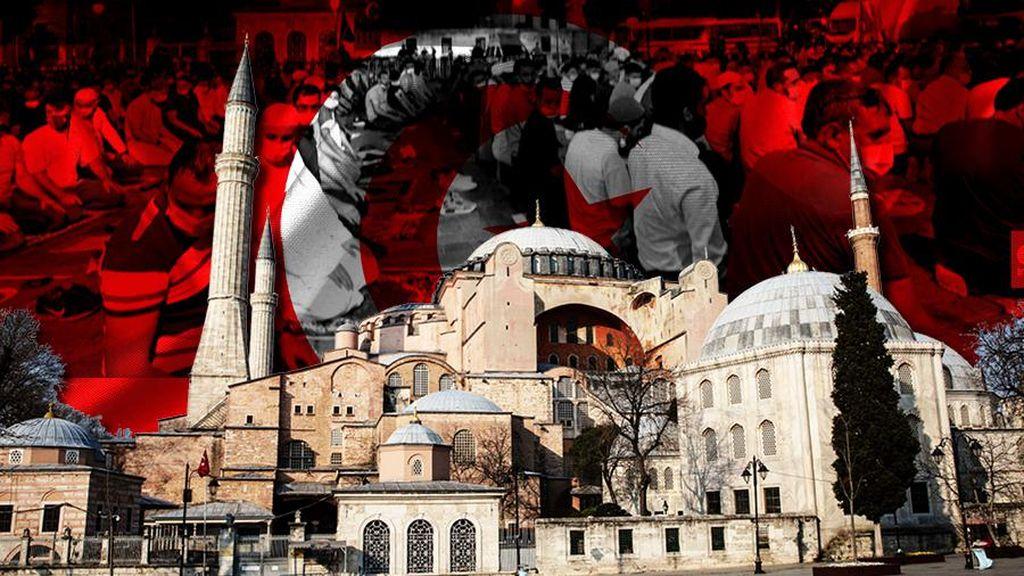 Turki Ubah Hagia Sophia Jadi Masjid