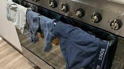 Jadi Kontroversi, Istri Jemur Pakaian Dalam Suami di Oven Saat Dipakai Masak