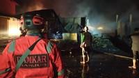 22 Kios Pasar di Kawasan Wisata Cibodas Terbakar, Diduga Korsleting Listrik