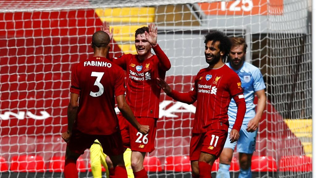 Tampil Dominan, Liverpool Diredam Burnley