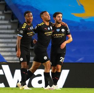 Brighton Vs Man City: Sterling Hat-trick, The Citizens Menang 5-0