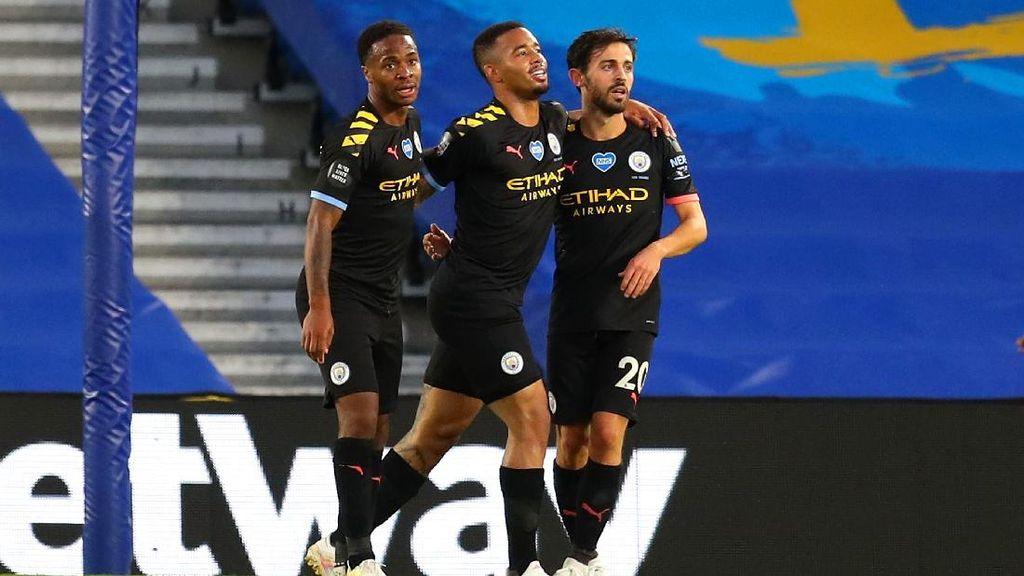 Video Manchester City Pesta Gol di Kandang Brighton
