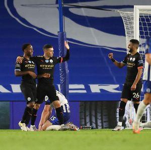 Hasil Liga Inggris Semalam: Man City Pesta Gol