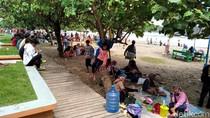 Pantai Pangandaran Mulai Diserbu Wisatawan