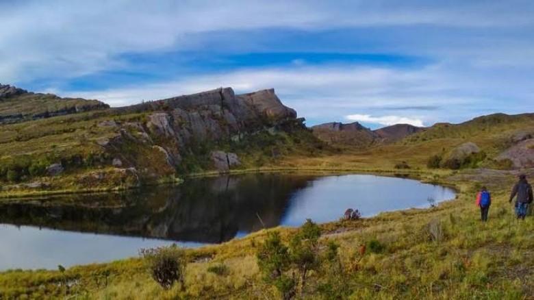 Destinasi di Taman Nasional Lorentz.